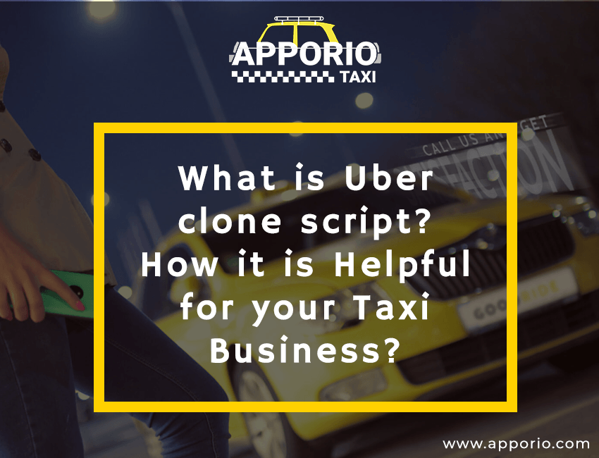What is Uber clone script
