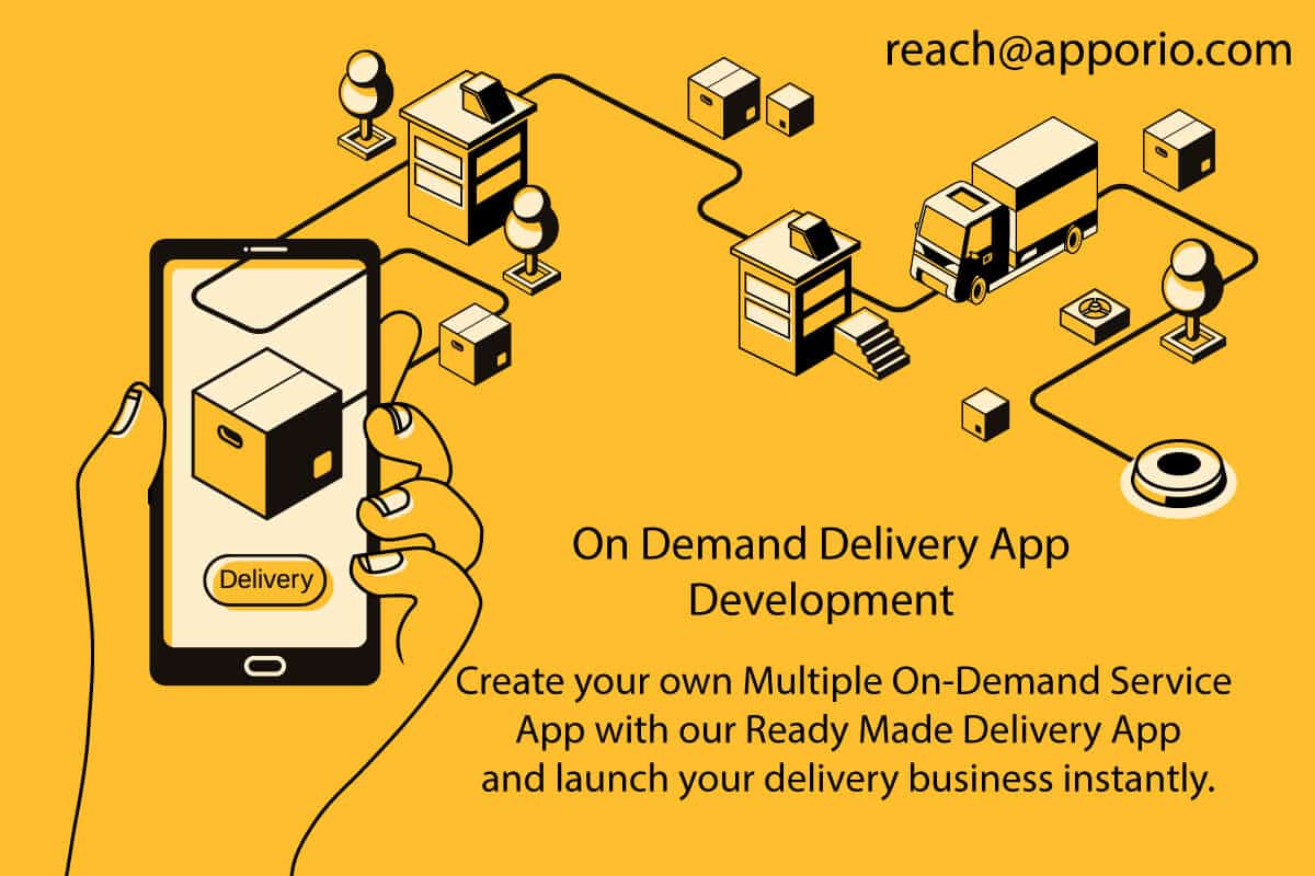 Delivery App Development, Apporio